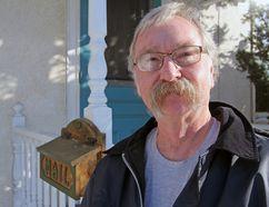 Ted Moyes outside his home on Montreal Street in Kingston, Ont. on Wednesday January 17, 2018. Steph Crosier/Kingston Whig-Standard/Postmedia Network