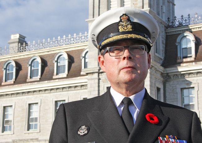 Vice-Admiral Mark Norman. (File photo)