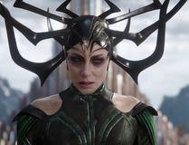 Cate Blanchett plays Hela in Thor: Ragnarok.