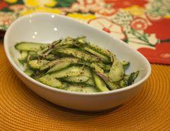Cucumber salad with dill. (DEREK RUTTAN, The London Free Press)
