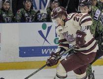 Nikita Korostelev, RW, Peterborough Petes. (File photo)