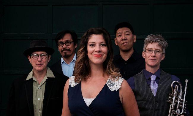 Jazz Sudbury presents Amélie & Les Singes Bleus (ALSB) at Collège Boréal's Au Pied du Rocher on Feb. 15.