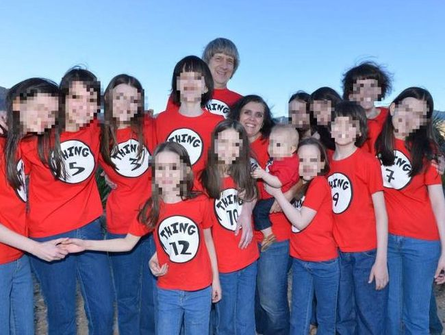 The Turpin family. Facebook