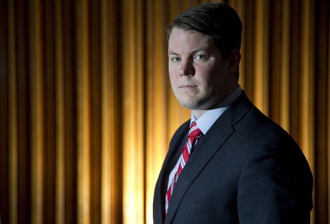 Thames Valley District school board's Matt Reid. (DEREK RUTTAN, The London Free Press)