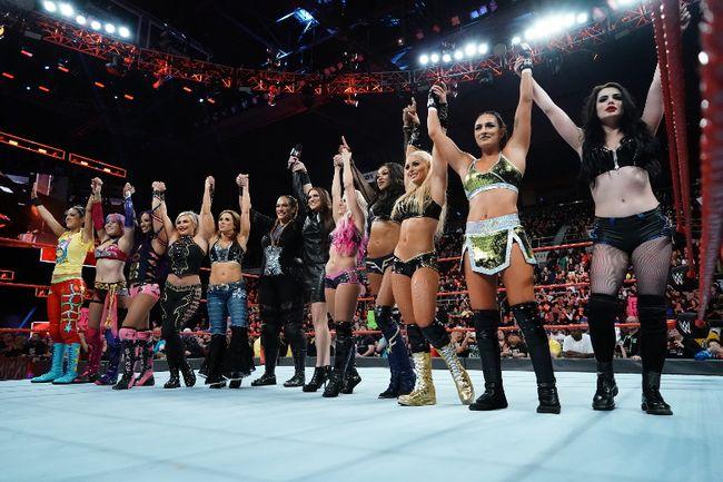 World Wrestling Entertainment holds its first women's Royal Rumble in Philadelphia on Jan. 28. (World Wrestling Entertainment photo)