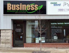 The Business Enterprise Centre in Owen Sound. DENIS LANGLOIS/THE SUN TIMES
