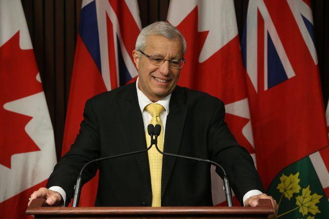 Vic Fedeli. (File photo)