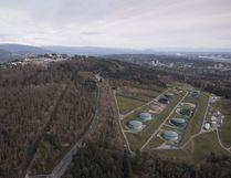 Kinder Morgan Trans Mountain Expansion Project's oil storage tank farm. (CANADIAN PRESS)