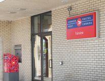 Canada Post, Fairview, entrance