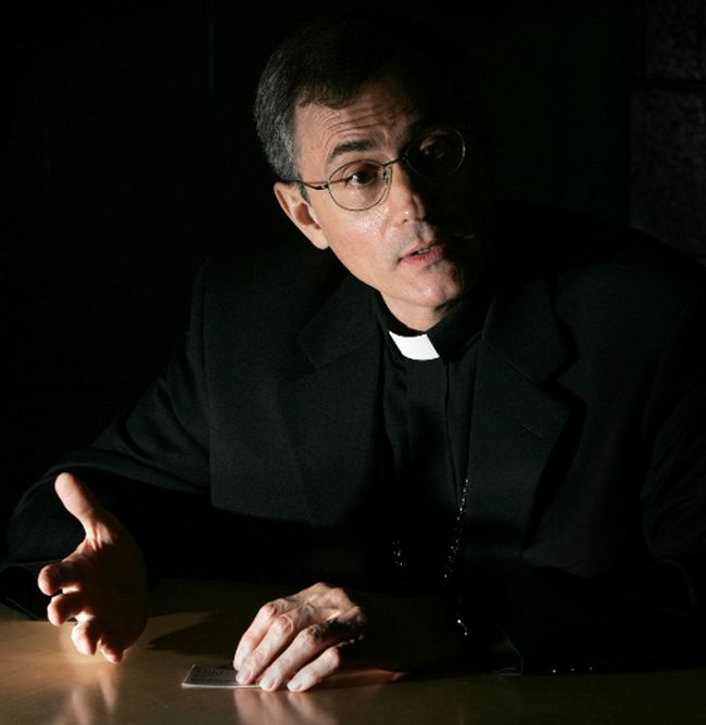 Bishop Ronald Fabbro (Free Press file photo)