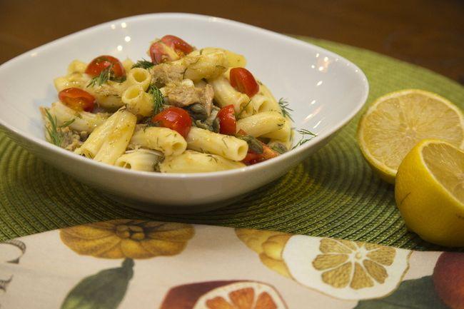 Tuna Pasta with Lemon and Dill (DEREK RUTTAN, The London Free Press)