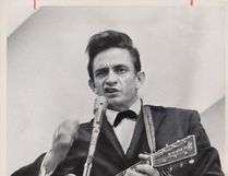 Johnn Cash performs in Toronto in 1965. (Postmedia File Photo)