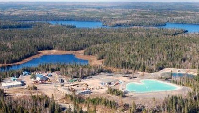 Cote Lake gold mine project. (Iamgold Corporation)