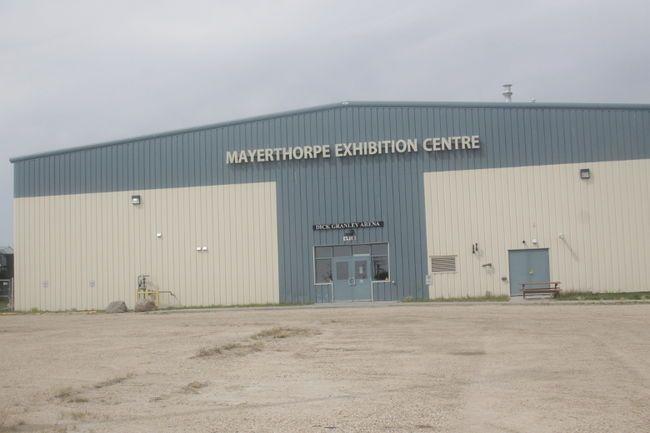 The Mayerthorpe Exhibition Centre (File Photo).
