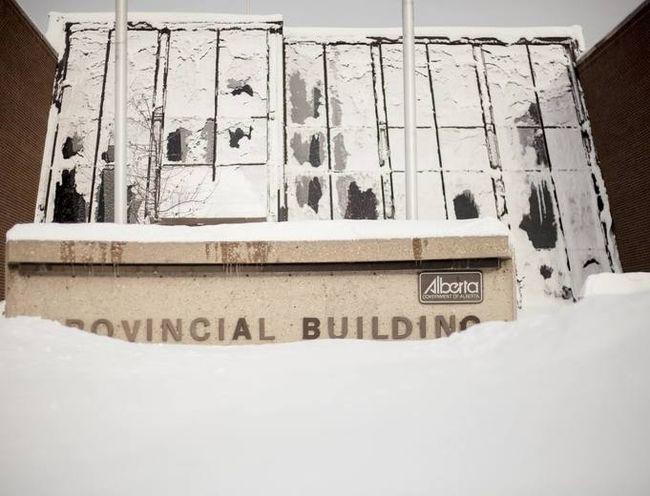 Whitecourt Provincial Court (File Photo).