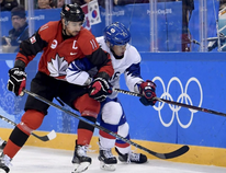 Team Canada men's hockey captain Chris Kelly, a former London Knights forward.
