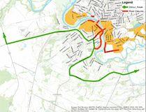 Brantford flood detour route issued Feb. 21.