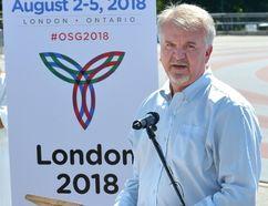 Dave De Kelver, general manager of the London 2018 Ontario Summer Games. MORRIS LAMONT/POSTMEDIA NEWS
