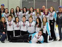 The midget girls Stealth won gold. Handout/Cornwall Standard-Freeholder