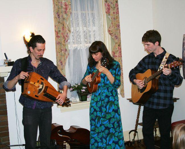 The concert at Miramichi House March 9 featured the trio Casati, Quintin Bart, Grace Hrabi and Jesse Popeski.