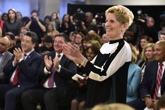 Ontario Premier Kathleen Wynne. Canadian Press photo.