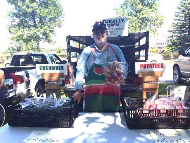 Altona Farmer's Market organizer Joe Braun is already hard at work, planning for this summer's market season.