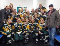 Members of the Humboldt Broncos junior hockey team on March 24, 2018. HANDOUT VIA CP
