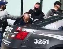 Toronto Police make an arrest after Monday's van attack.