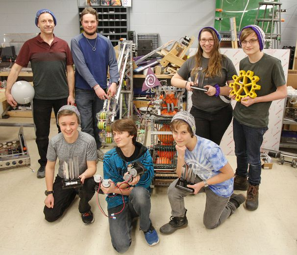 Local robotics teams take on the world