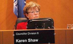 Karen Shaw, Sturgeon County councillor.