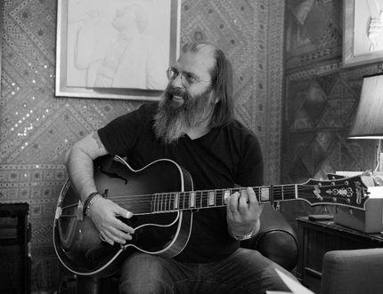 Steve Earle performing in Belleville this September.