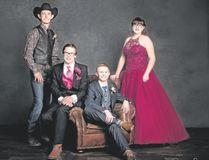 Youngstown graduates Katie Behr, Tyson Fildey, Tanner Madge and Jaxen Tattrie.