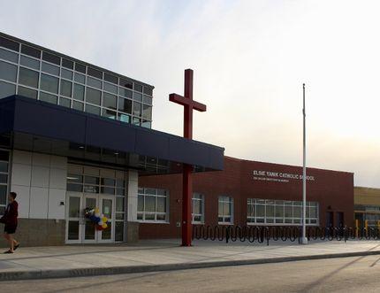 Elsie Yanik Catholic School in Parsons Creek in Fort McMurray, Alta. on May 16, 2018. Laura Beamish/Fort McMurray Today/Postmedia Network