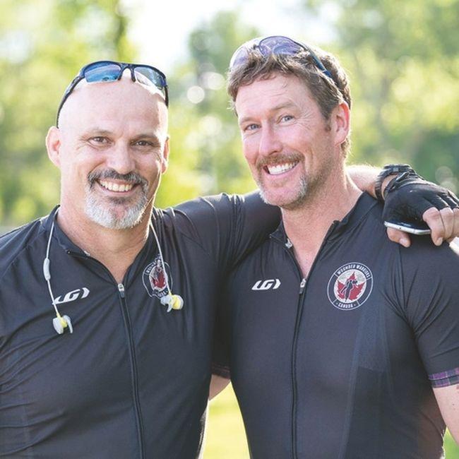 Local supporting veterans with Balkans Bike Ride 1298013553690_ORIGINAL