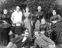 The Eberts family at Riverside circa 1887. John Rhodes photo