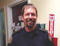 Mike Matchett, Nanton's new fire chief