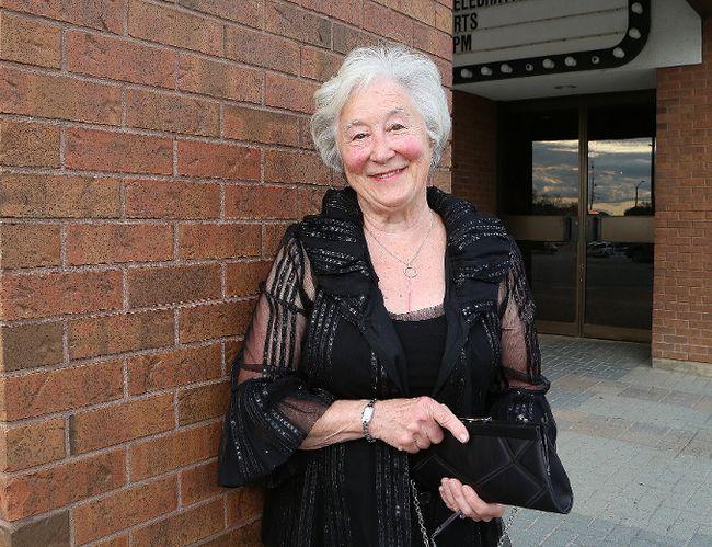 Iona Reed Pukara received the Sudbury Arts Council President's Award at the Mayor's Celebration of the Arts gala at the Sudbury Theatre Centre in Sudbury, Ont. on Wednesday June 6, 2018. John Lappa/Sudbury Star/Postmedia Network