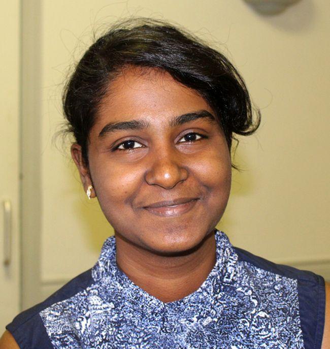 Usda Sreeram was among those at Monday's job fair. Ellwood Shreve/Postmedia Network