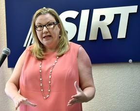 Susan Hughson, ASIRT executive director, on July 3.   Ed Kaiser/Postmedia Network