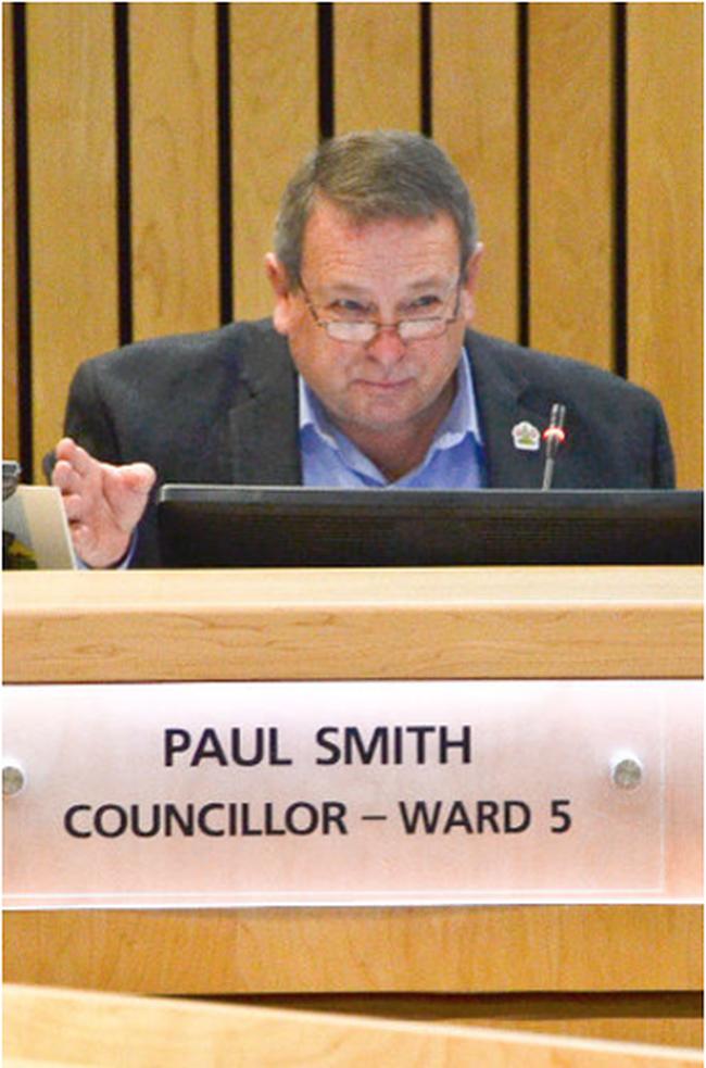 Strathcona County Coun. Paul Smith.