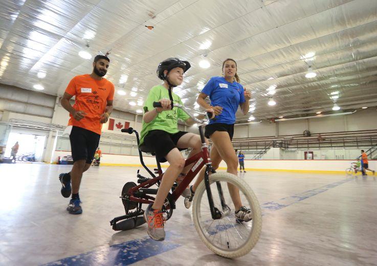 Children shine at bike camp