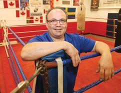Gord Apolloni of Top Glove Boxing Boxing Academy. (John Lappa/Sudbury Star file photo)