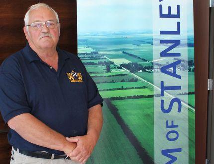 R.M. of Stanley Reeve Morris Olafson announced he will run again.