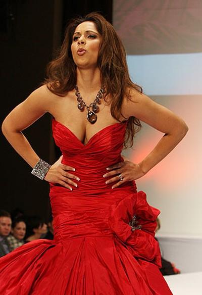 Celebrity: Citytv weather specialist Sangita Patel Designer: Ines Di Santo (VERONICA HENRI, Toronto Sun)