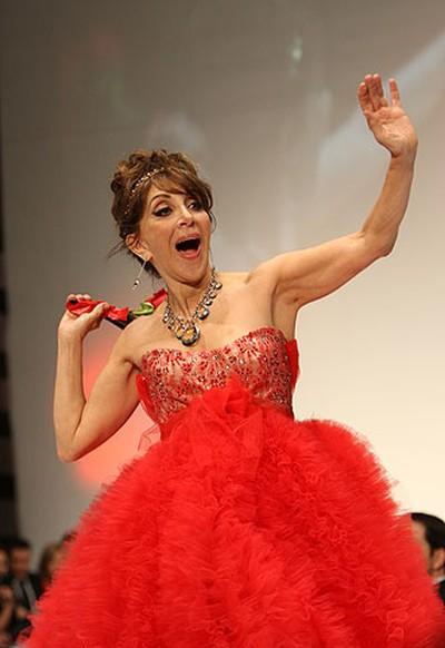 Celebrity: Actress and comedienne Andrea Martin Designer: Farley Chatto (VERONICA HENRI, Toronto Sun)