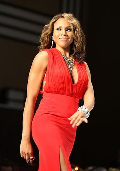 Celebrity: R&B singer-songwriter Deborah Cox Designer: Kaelen (VERONICA HENRI, Toronto Sun)