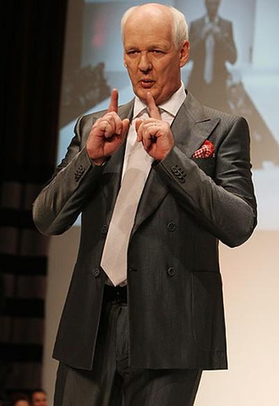 Celebrity: Actor and comedian Colin Mochrie Designer: V Hazelton (VERONICA HENRI, Toronto Sun)