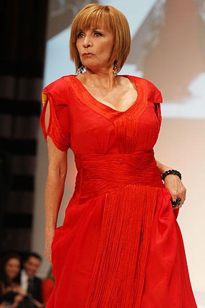 Celebrity: Actress and comedienne Debra McGrath Designer: Karamea (VERONICA HENRI, Toronto Sun)