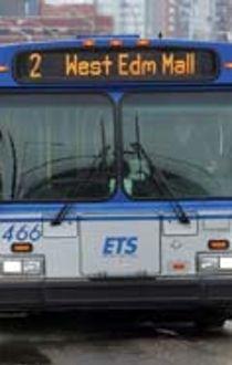 An Edmonton transit bus make its way along 104 Avenue, Wednesday March 9, 2011. 59 Edmonton Transit Service buses received speeding tickets in 2010. (DAVID BLOOM/EDMONTON SUN)