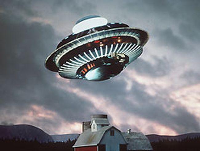 UFO illustration.